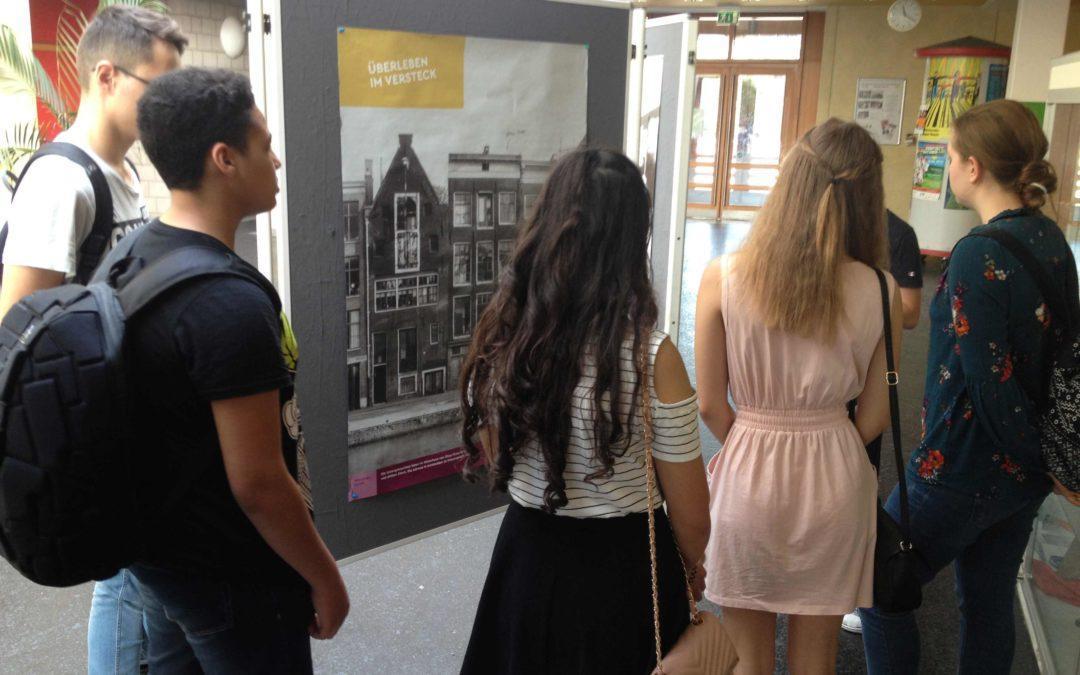 Anne Frank Tag 2019 am Sartre Gymnasium