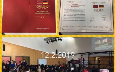 Besuch aus China am 12.2.2019