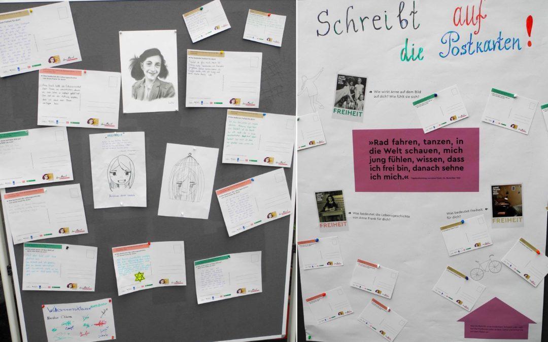 Anne Frank Tag am 12. Juni 2020 – Das Thema in diesem Jahr ist Freiheit.