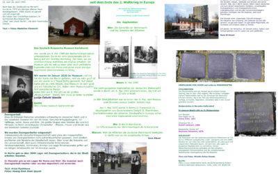 8. Mai 2020 – 75 Jahre seit dem Ende des Zweiten Weltkriegs in Europa